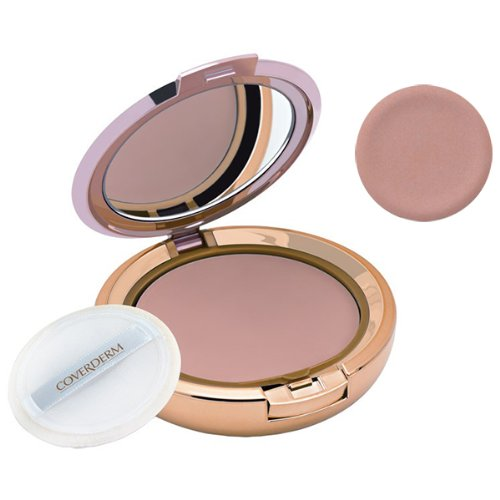 makeup powders CoverDerm Compact Powder Normal Skin N4.35 Ounce