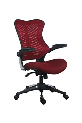 OFFICE FACTOR Burgundy Office Chair