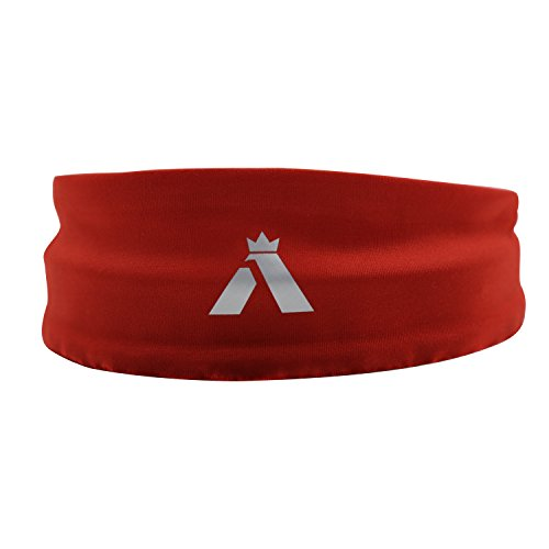 azimeng Men Headbands/Sweatband Best for Sports, Running, Workout, Yoga + Elastic Hair Band - Ultimate Athletic Performance Sports & Fitness Accessories Headbands