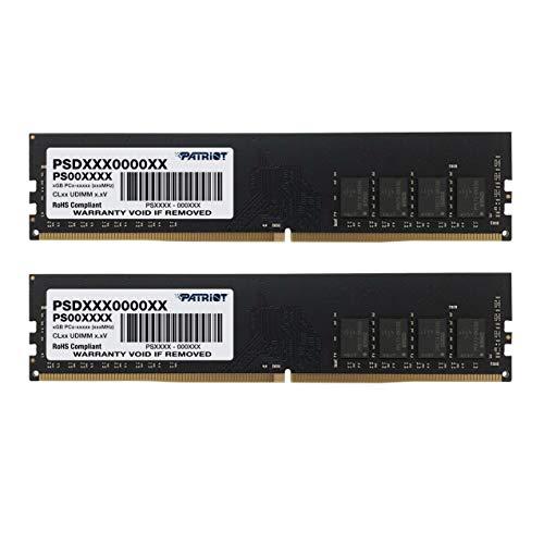 Patriot Signature Line PSD48G2133K Arbeitsspeicher (8 GB (2 x 4 GB), 288-pin DDR4 PC4-17000, 2133 MHz)