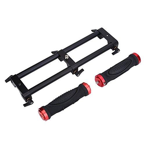 Vbestlife Camera Dual Grip Extender Handle Gimbal Stabilizer Rig Accesorio para Zhiyun Feiyu