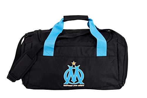 OLYMPIQUE DE MARSEILLE Sac de Sport Om - Collection Officielle Football Ligue 1 - Taille 50 x 30 x 25 cm