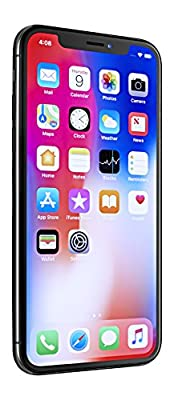 """Apple iPhone X, GSM Unlocked 5.8"""", 256 GB - Space Gray from Apple Computer"""