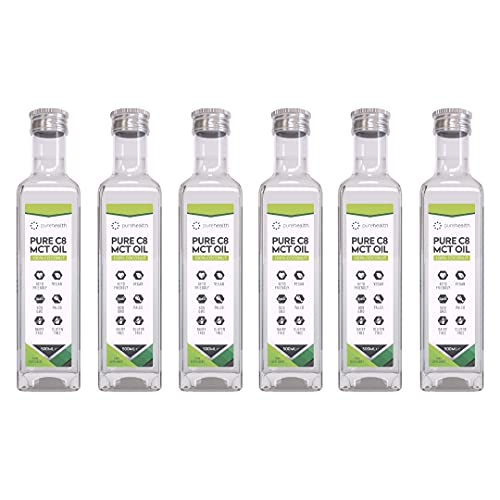 6 Pack CASE Premium MCT Oil | Keto-Friendly | Boosts Ketones | Non-GMO | Paleo | Vegan | Gluten Free (6 Pack Case)