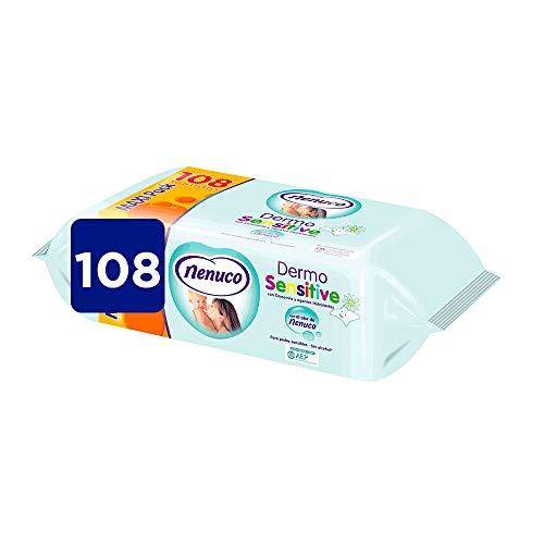NENUCO Dermo sensitive toallitas para bebés envase 108 uds
