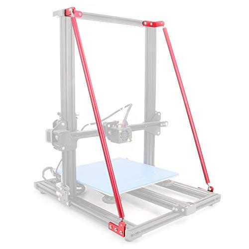 Befenybay - Set di aste di supporto per stampante 3D Creality CR-10 300/CR-10S 300 (550 mm)