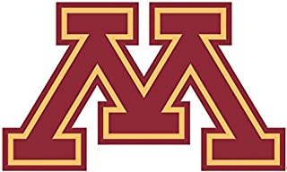 8 inch UMn University of Minnesota Golden Gophers Logo Removable Wall Decal Sticker Art NCAA Home Room Decor 8 1/2 x 5 inches