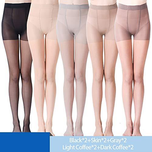 WANGXB Pantys,Panty Medias,10 Piezas de Pantimedias Sexy ultradelgadas,Naturalmente Transpirable,Protege eficazmente Tus piernas, vestibilidad,Confort Duradero,Úselo en una Variedad Lugares.