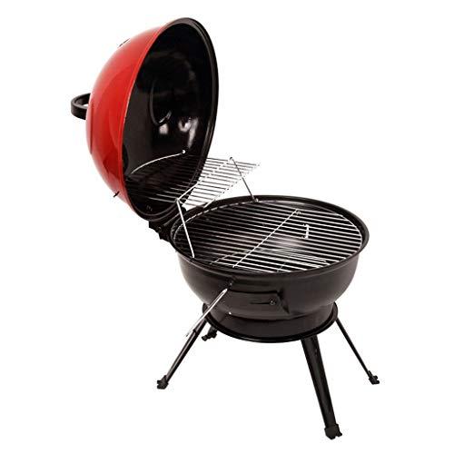 DUOER home Portátil Ronda Barbacoa Barbacoa Barbacoa al aire libre Caldera de carbón Barbacoa Barbacoa para Patio Party Grill