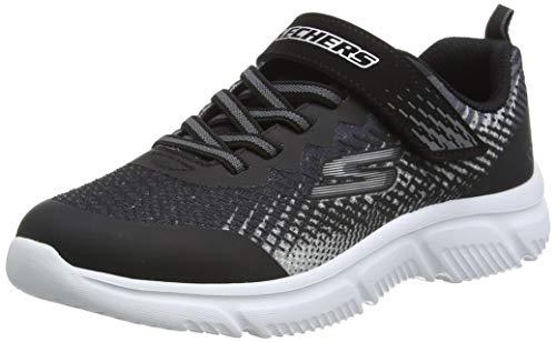 Skechers Zapatilla infantil GO Run 650 NORVO, Black_2, 27 EU