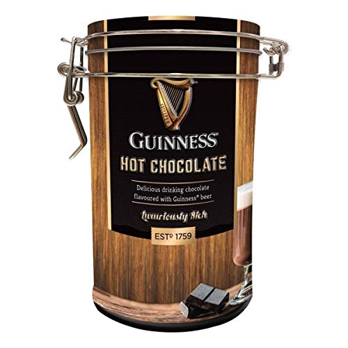Delizioso cioccolato caldo aromatizzato con Guinness - 200g