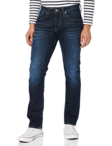 Pepe Jeans Herren Jeans Pepe Jeans, 11oz Streaky Stretch Dk Z45, 32W / 34L