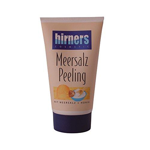 Hirner Meersalz Peeling Tube 150 ml - Körperpeeling, Gesichtspeeling, Gesichts- Körperpflege mit Meersalz und Bienenhonig, Sauna Peeling