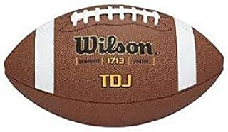 Wilson Sports Junior Composite Leather Game Ball Football