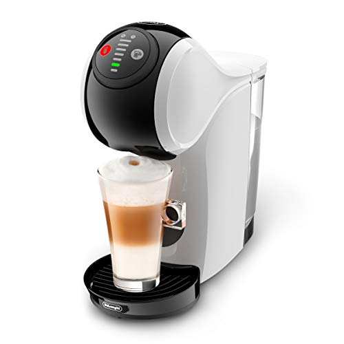De'Longhi Dolce Gusto EDG225.W Genio S Pod Coffee Machine, compact design, adjustable drink size, 0,8L removable water…