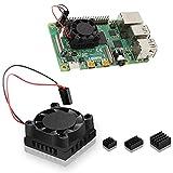 Raspberry Pi 4 Ventilador de refrigeración iUniker Raspberry Pi con un...