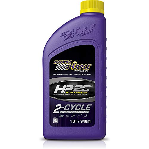 Royal Purple 01311 HP 2-C High Performance 2-Cycle Motor Oil with Synerlec, 1 Quart