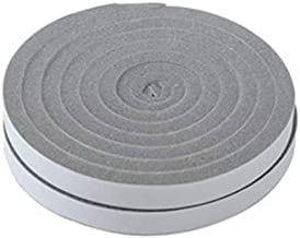 Door Window Foam Sticky Tape Strip Seal Noise Insulation Excluder Tape Roll (1.5cm x 200cm x 2pcs)