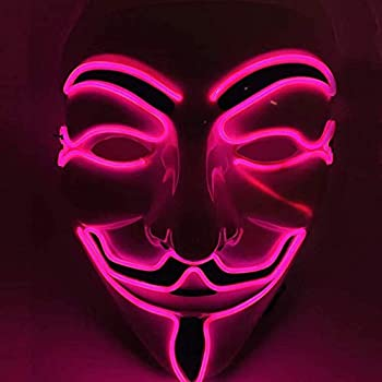 Best anonymous mask led Reviews