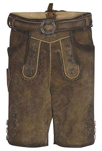 Distler Original Lederhosen Weilheim Kinder Hellbraun,164