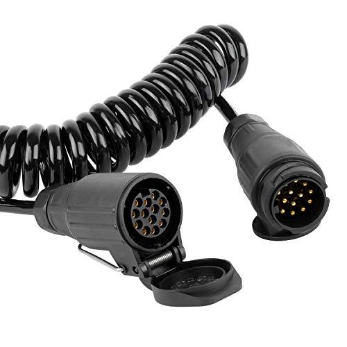 Forever Speed 3.0m 13-polig auf 13 Polig Adapter Stecker Verbindung Verlängerungskabel für Anhänger Bootstrailer TreckerPKW-Anhänger Caravan Fahrradträger