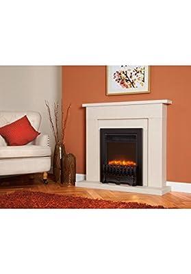Designer Celsi Fire - Traditional Insert Royal Black 16''