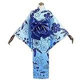 YKJ Traje De Mascarada del Traje De Cosplay del Anime De Las Señoras De La Luz Azul De La Chaqueta De La Cintura Sello De Encargo Ciclo 15 Días,Clothing Set-Large Size