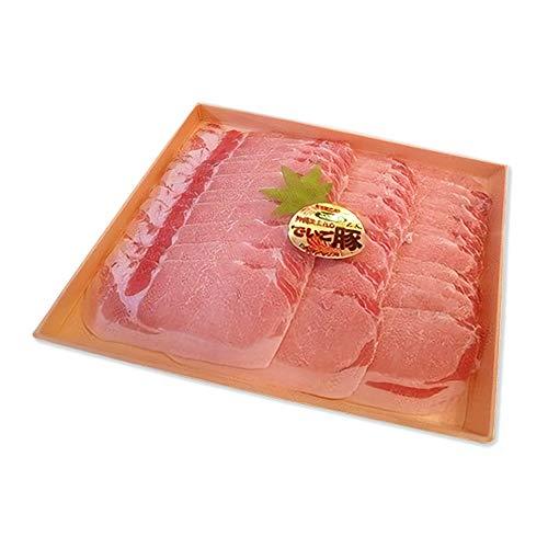 沖縄県産ブランド肉 でいご豚 ロース しゃぶしゃぶ 500g ×3 上原ミート 淡いピンクの肉色 甘みとコクがありアクの出にくい豚肉