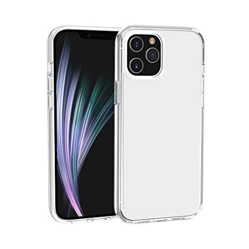 LM para iPhone 12 Pro MAX Terminape Terminator Style Funda Protectora Transparente 2021 Transparent
