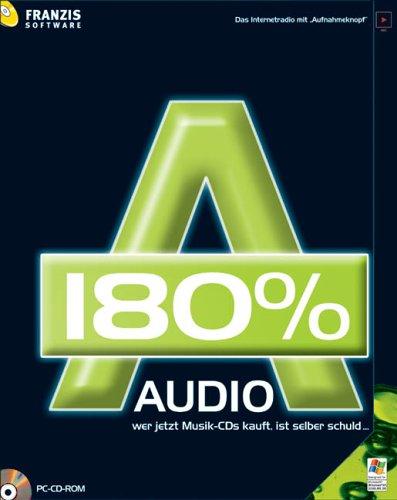 Audio 180 {387811438f0507e3c3f2eeadca1187ab794c6d2818b6cb7b5b5d51df3fa8c7c7}, 1 CD-ROM Das Internetradio mit \'Aufnahmeknopf\'. Für Windows 98 SE/ME/XP SP1 und SP2