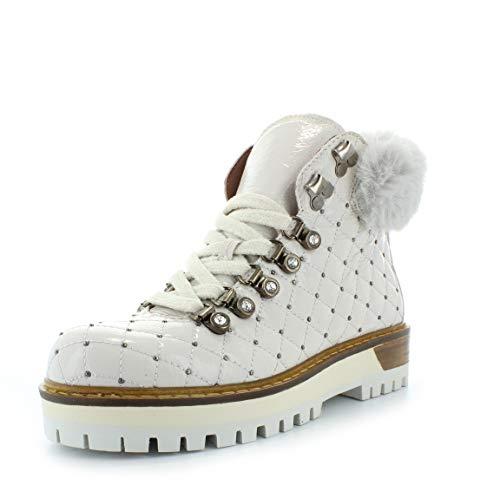Alpe Woman Shoes Damen Stiefeletten Stiefel 4443 5307 weiß 745703