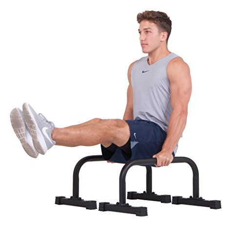 body power New Push up Stand Parallettes 12x24 inch Non-Sl...