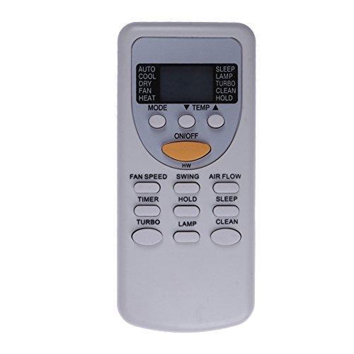 Demiawaking Telecomando Sostitutivo per Climatizzatore Condizionatore d aria Tipo Split Adatto per ZH JT-03