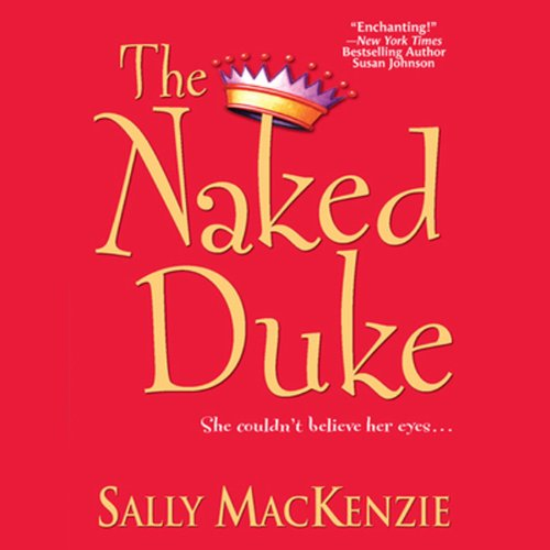 The Naked Duke audiobook cover art
