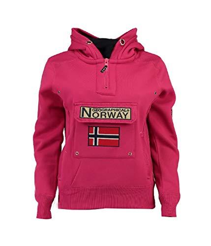 Geographical Norway - Sudadera para Mujer Rosa S