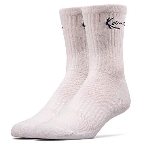 Kani Socks 2 Pack Signature White Black Größe: 43-46 Farbe: White