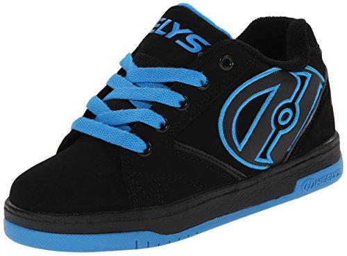 Heelys Propel 2.0 | zapatos con ruedas para niños | Negro, (36.5 EU)