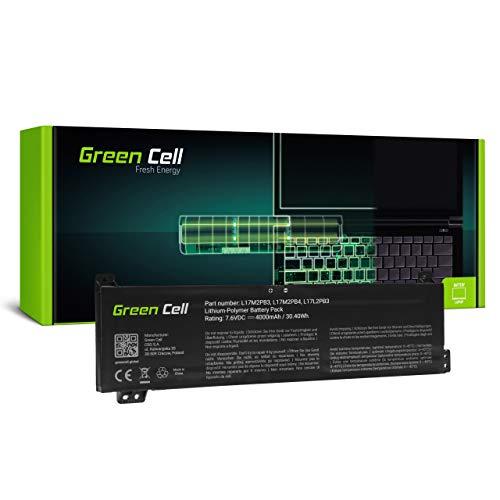 Green Cell L17C2PB3 L17C2PB4 L17L2PB3 L17L2PB4 L17M2PB3 L17M2PB4 Battery for Lenovo Laptop (4000mAh 7.6V Black)