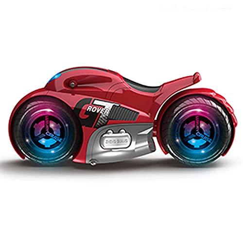 YUMOYA RC Moto Telecomando 360 ° Ruote di filatura Stunt Moto 360 ° Stunt Rotation All Terrain 2.4 Ghz Alta Velocità Hobby RC Auto Regalo Per Adulti/Bambini