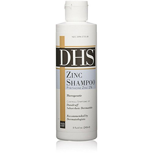DHS Zinc Shampoo 8 oz (Pack of 3)