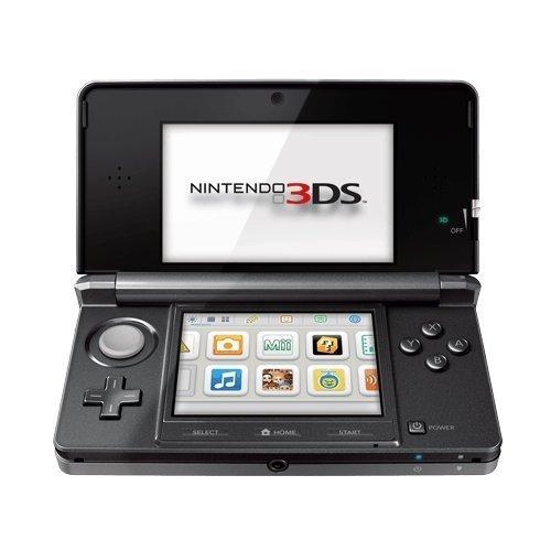 Nintendo 3DS - Cosmo Black (Renewed)