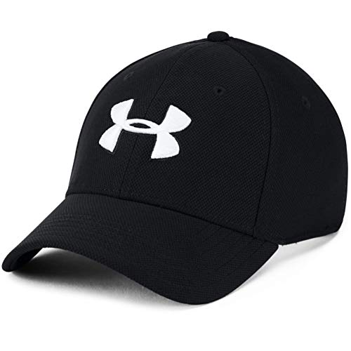 Under Armour Men's Blitzing 3.0 Cap , Black (001)/White , Small/Medium