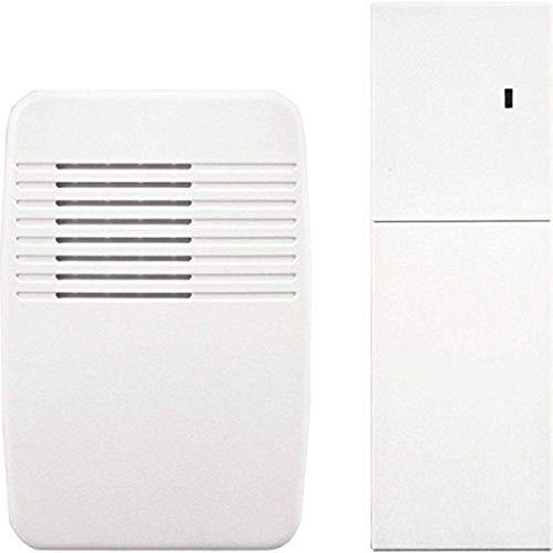 Heath Zenith SL-7357 Wireless Plug-In Door Chime Extender, White