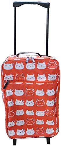 Sea caja de la carretilla bolsa de viaje aplicables carro de equipaje del bolso del equipaje de ruedas de goma silencioso viaje resistente al agua bolsa de gran capacidad - a prueba de agua (color: ro