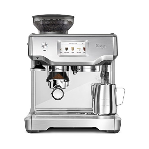 Sage Appliances SES880 Espressomaschine, Brusched Steel