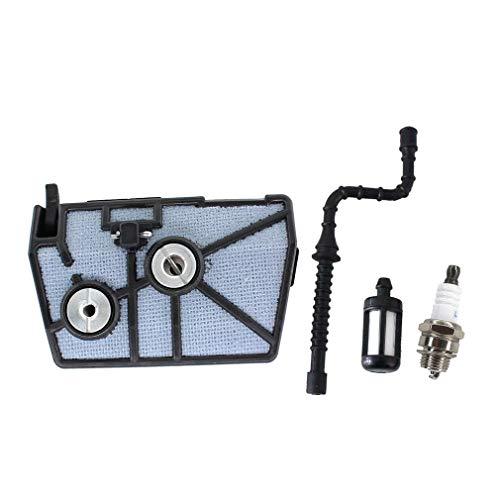 AISEN Luftfilter für Stihl 028 028AV AV Super mit Benzinschlauch Zündkerze