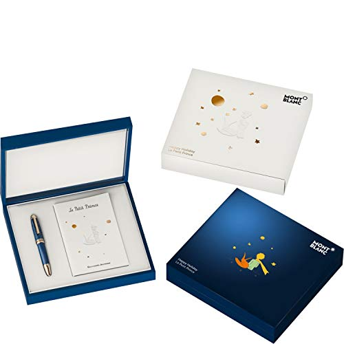 Montblanc Blue Resin Meisterstueck Le Petit Prince Happy Holiday Set 118837