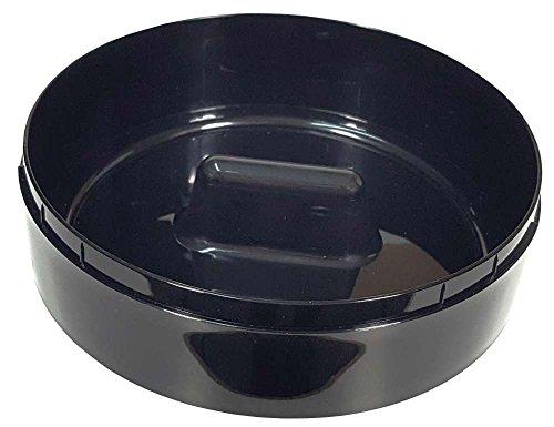 Abtropfschale schwarz für Philips Senseo Switch HD7892 Driptray