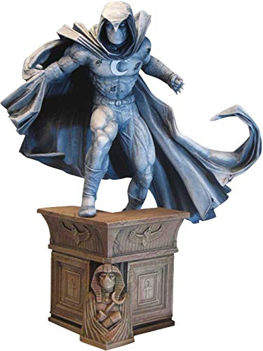 DIAMOND SELECT TOYS Marvel Premier Collection: Moon Knight Resin Statue,12 inches image
