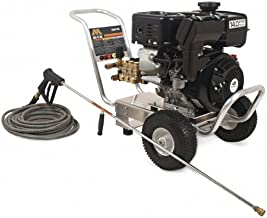 Mi-T-M CA-3504-1MAS CA Aluminum Series Cold Water Direct Drive, 404cc Subaru OHC Gasoline Engine, 3500 PSI Pressure Washer